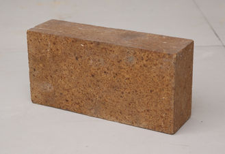 MgO Content 92% - 99% Insulating Fire Brick , Fired Magnesia Brick Brown Color